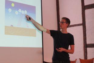 Vortrag über Klimawandel fesselt 50 Zuhörer im Storchenturm-Museum