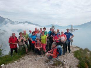 Alpenverein wandert am Gardasee