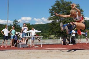 Titeljagd bei den Nachwuchs-Leichtathleten