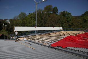 Fertigstellung des Feuerwehrhauses einen Schritt nähergerückt: