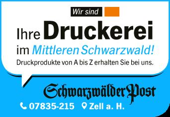 Schwarzwälder Post – Ihre Druckerei im Mittleren Schwarzwald