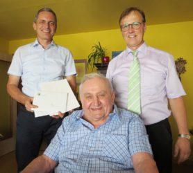 Reinhard Arndt feierte seinen 90. Geburtstag