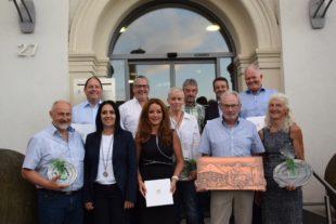 185 Jahre ehrenamtliche Tätigkeit wurden im Gemeinderat gewürdigt
