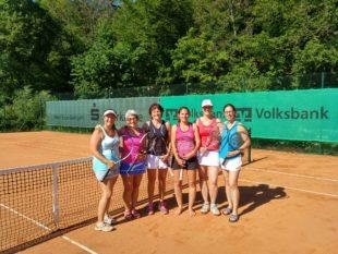 Tennisdamen 30 der SG Biberach-Nordrach weiter in der Oberliga