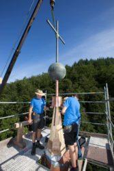 Sanierungsarbeiten an Maria-Hilf-Kapelle stehen vor dem Abschluss