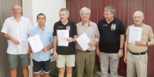 Ehrenvorstand Peter Baumann seit 50 Jahren aktiv im Schachclub Zell
