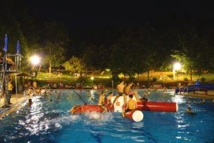 DLRG Biberach: Flutlichtbaden