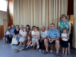 Enkel und Großeltern genossen gemeinsam das Oma-und-Opa-Fest