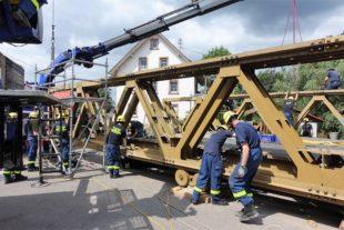 An den ersten zwei Juli-Wochenenden Kurgartenbrücke abmontiert