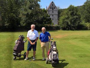 Mit viel Eigenleistung wurden Golfplatz und Clubhaus erbaut und immer wieder erweitert
