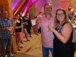 Trachtenkapelle feierte mit Herbert Vollmer in seinen 60. Geburtstag