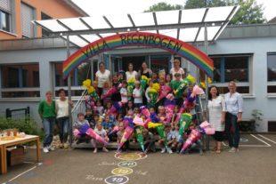 Kindergarten-Zeit ist vorbei: »Villa Regenbogen« verabschiedet Schulanfänger