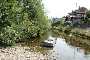 Wasserentnahme aus Bächen und Flüssen strikt verboten