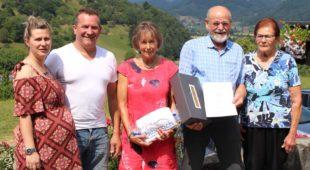 Feriengästeehrung auf dem Breighof im Erzbach