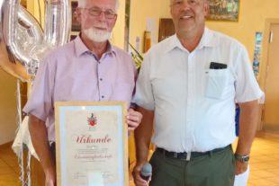 Olaf Pohl zum ersten Ehrenmitglied des Golfclubs Gröbernhof ernannt