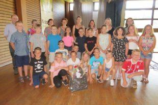 19 Viertklässler nahmen Abschied von der Grundschule in Nordrach