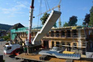 Alt trifft Neu: Untertorgebäude hat ein neues Treppenhaus erhalten