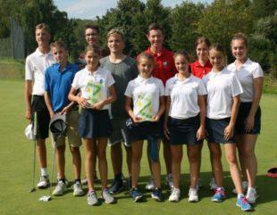 Golf-Jugend weiterhin mit der Spielgemeinschaft auf Erfolgskurs