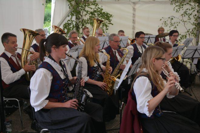 Musikverein Prinzbach-Schönberg: Musik unter der Burg