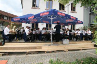 Bräunlinger Stadtkapelle eroberte Herzen der Zeller Musikfreunde