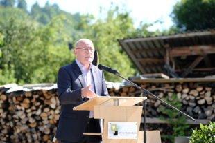 Minister Winfried Hermann kommt morgen zur L94-Verkehrsfreigabe