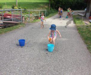 Wasserspaß statt Hallenturnen