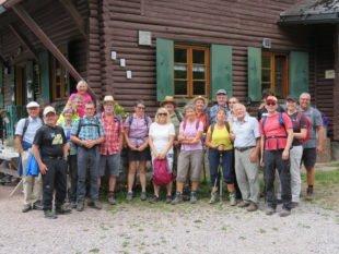 Auf Arbeit in der Heimat folgt ein Wanderausflug nach Schönwald