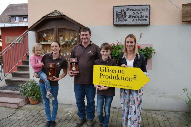 Kinzig-Brennerei Brosamer: Whiskyfest und Gläserne Produktion