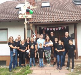 Eckwaldhexen freuen sich über die Geburt von Anna Aurelia