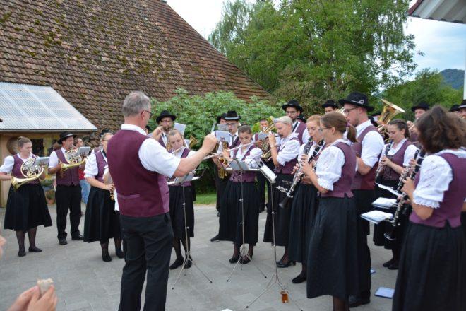 Musikverein Unterentersbach: Hock auf dem Kanzleiplatz