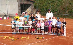 Volles Haus beim Tennisclub Nordrach: Spiel und Spaß mit der Filzkugel