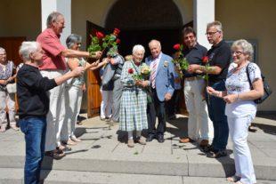 Agnes und Erich Gißler feierten gestern ihre diamantene Hochzeit