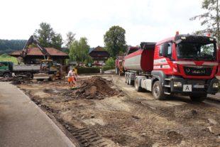 Nach der Fertigstellung der L94 wird nun die Wiesenfeldstraße saniert