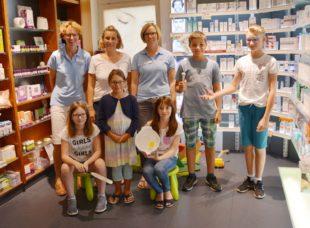 »Zelli«-Kinder in Marien-Apotheke
