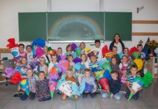 »Volles Haus« in der ersten Klasse der Grundschule Oberharmersbach