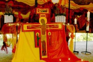 2019-9-16-ZE-dp-Kirchentag-Taizé-Gebet Altar 014