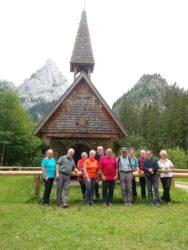 Vier Tage in den Ammergauer Alpen
