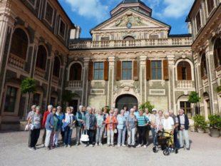 Lustschloss Favorit verzaubert Senioren mit barockem Charme