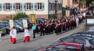 Pfarrgemeinde Prinzbach feierte Kirchenpatron beim Mauritiusfest