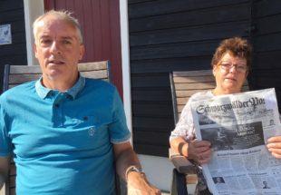 Familie Würsching verpasst keine Ausgabe der »Schwarzwälder Post«