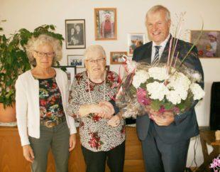 Rosa Sapparth feierte 90. Geburtstag