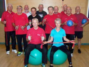 10 Jahre Gymnastikgruppe 55+