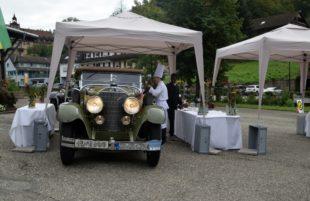 Oldtimer-Rallye machte am Samstag Zwischenstation in Nordrach