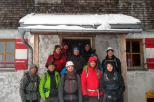 Eine schneereiche Hüttenrunde durch das Herz des Rätikons