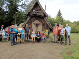 Nordracher Genusswanderer auf dem Lautenbacher Hexensteig