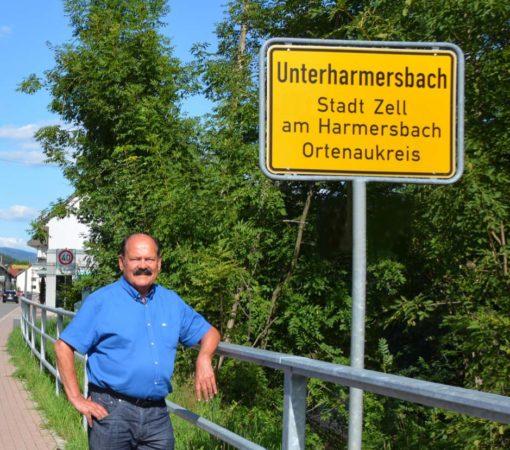 Verabschiedung von Ortsvorsteher Hans-Peter Wagner