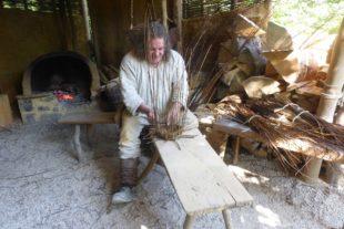 Bauen mit Methoden des Mittelalters