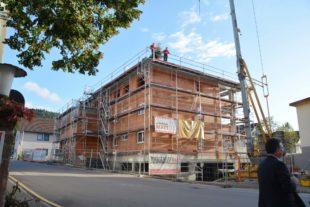 Richtfest für das Mehrgenerationen-Wohnhaus »Am Kapellengarten«
