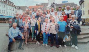 Herrlicher Wochenend-Ausflug für den Biberacher Kirchenchor