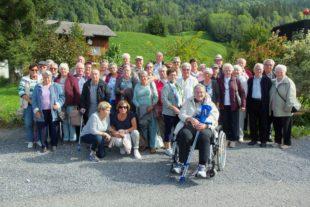 Senioren verlebten schöne Ferien im Bregenzerwald in Au